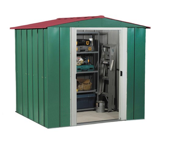 Buy Arrow Metal Garden Shed X At Argos Co Uk Your Online