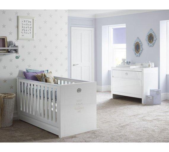 buy tutti bambini sovereign 2 piece nursery furniture set. Black Bedroom Furniture Sets. Home Design Ideas