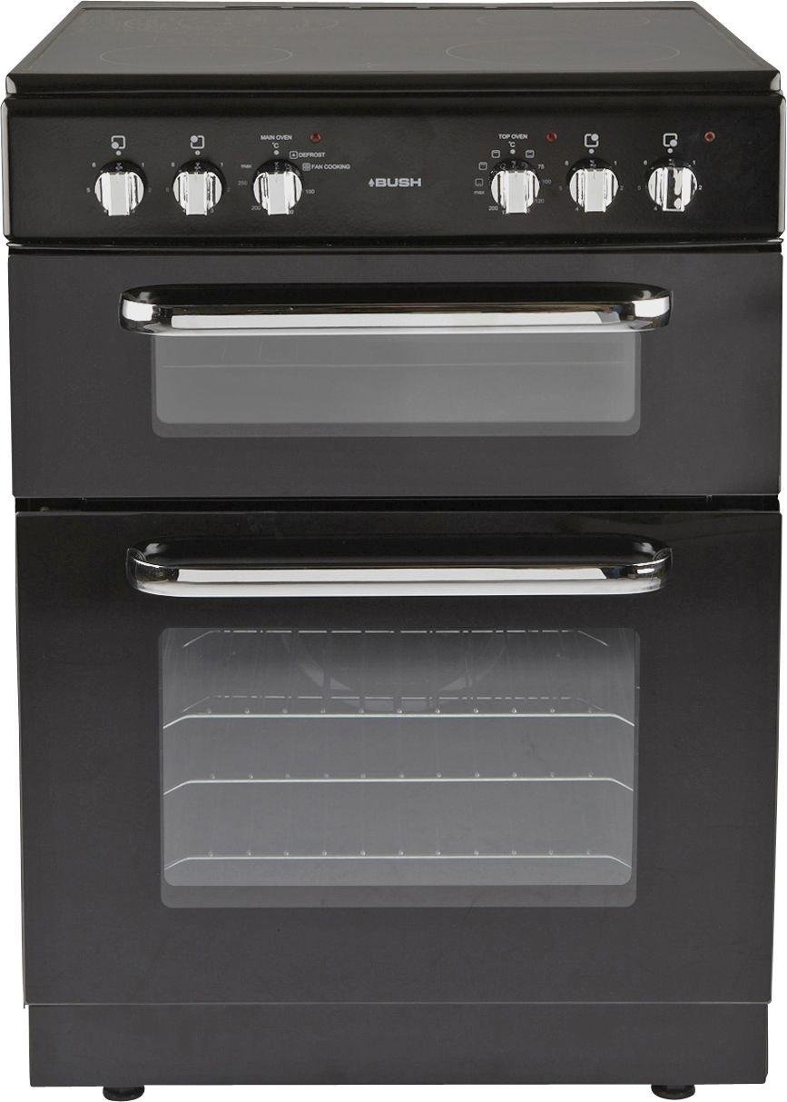 Argos Electric Cooker 60cm Wiring Diagram Master Blogs Oven And Hob Buy Bush Bfedc60b Double Black At Rice Slow Cookers
