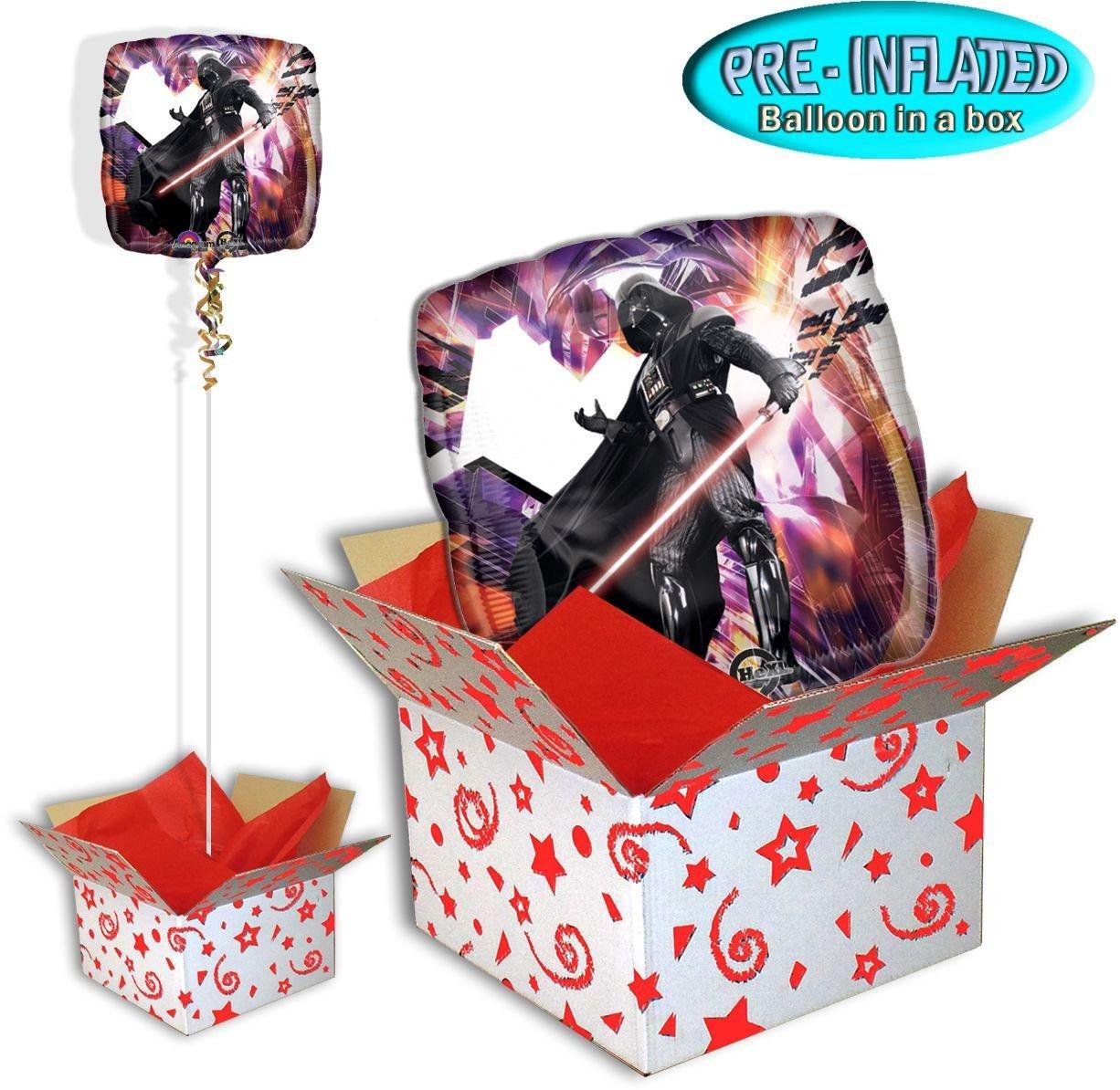 Star Wars Darth Vader Foil Balloon in a Box.