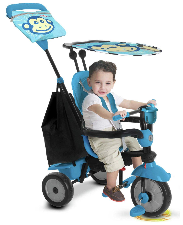 'Smart Trike - Touch Steering 4-in-1 Safari Ride On - Monkey