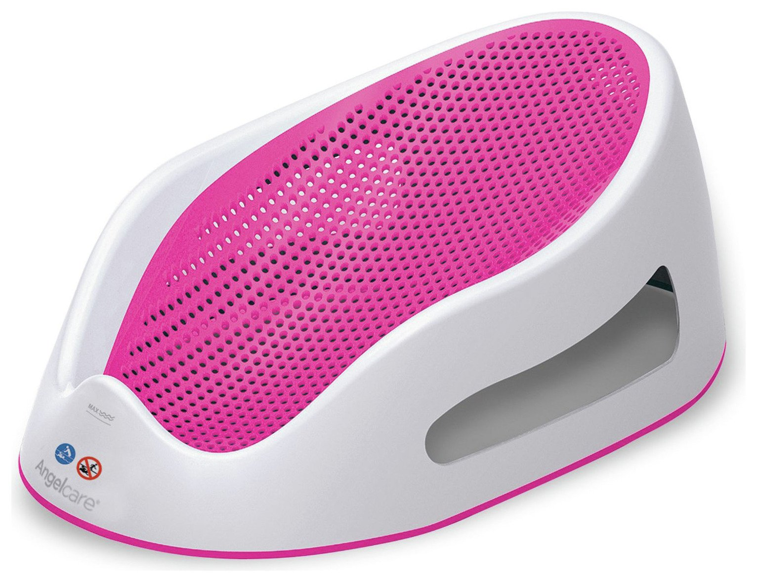 Image of Angelcare Soft-Touch Bath Support - Pink.