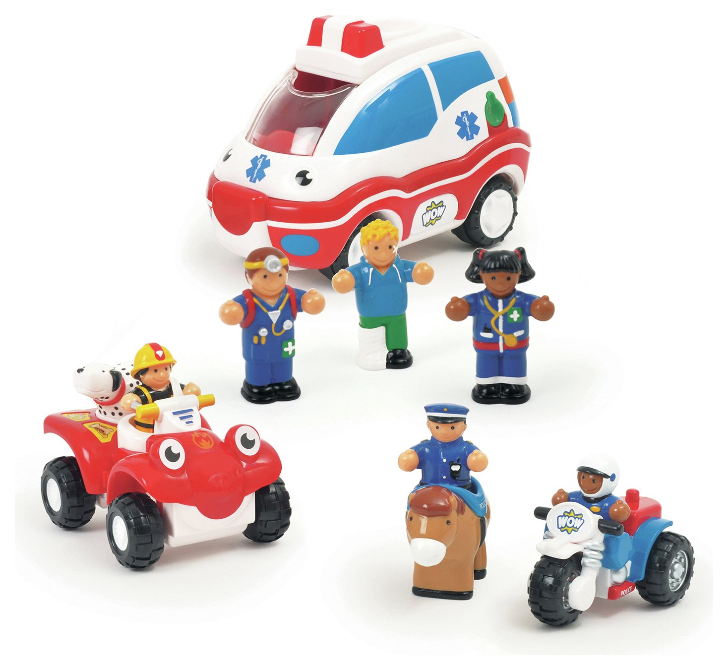 Wow Toys - Emergency Rescue.