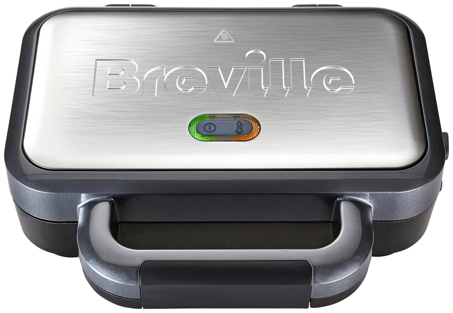 Image of Breville - VST041 2 Slice Deep Fill Sandwich Toaster - Silver