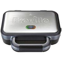 Breville - VST041 2 Slice Deep Fill Sandwich Toaster - Silver