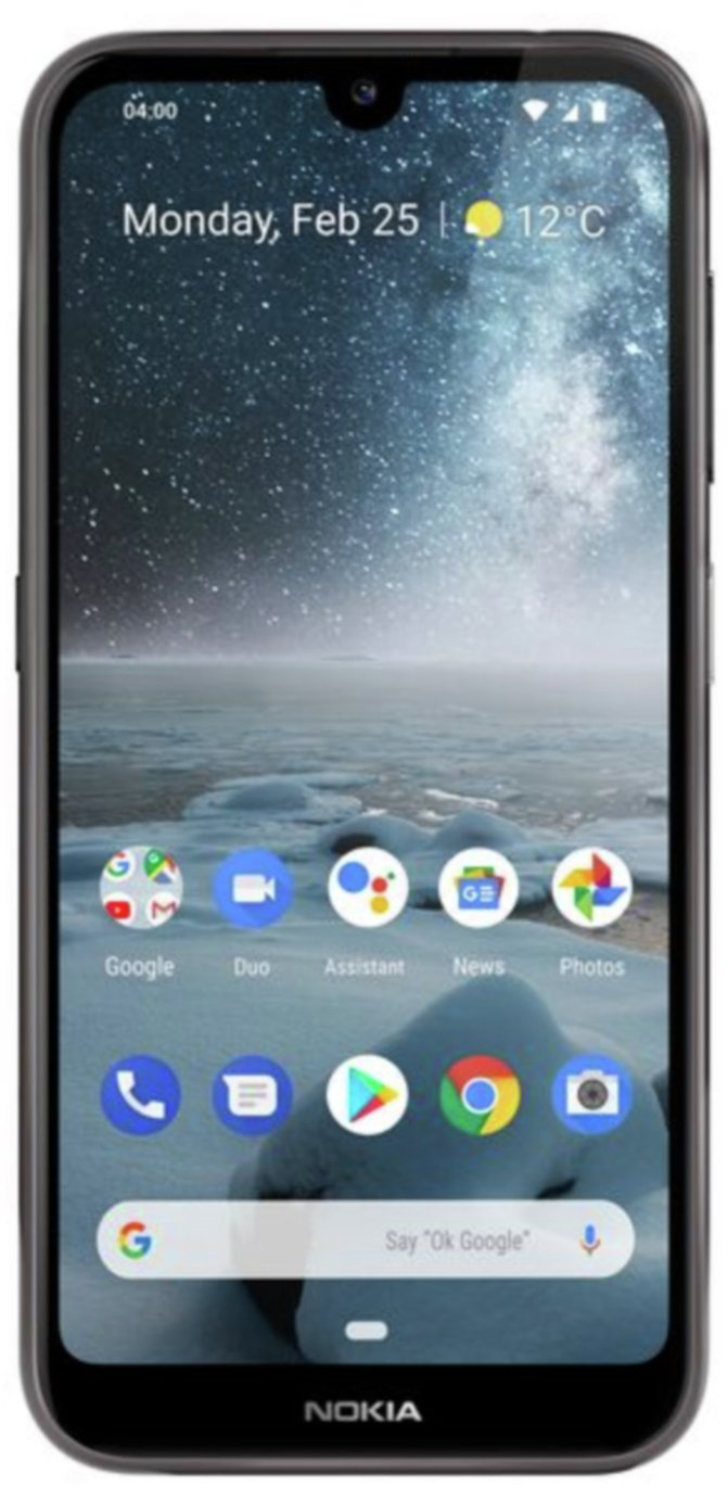 SIM Free Nokia 4.2 32GB Mobile Phone - Black
