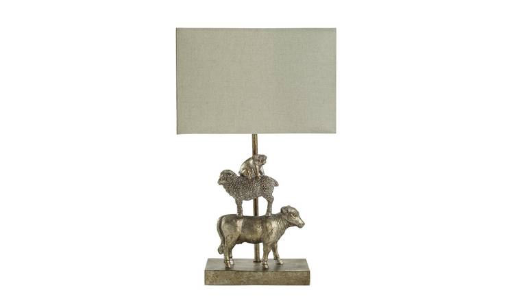 Argos Home Moorlands Stacked Sheep Table Lamp