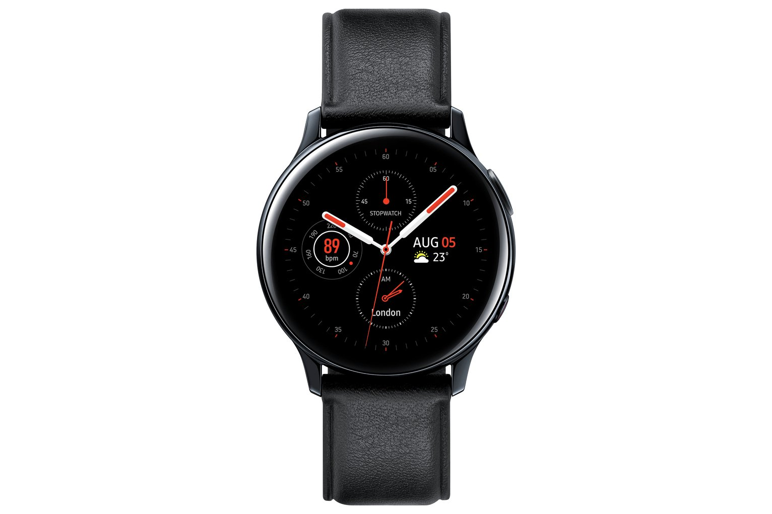 Samsung Galaxy Active2 4G S Steel 40mm Smart Watch - Black