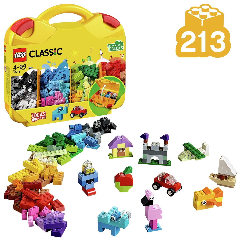 LEGO Classic Creative Suitcase, Lego Master Fan Gift - 10713