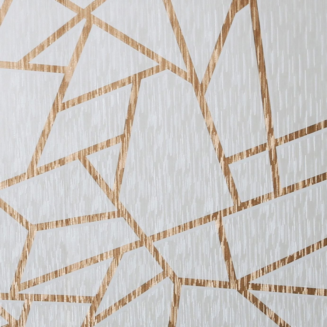Sublime Theia Geometric American Gold Wallpaper