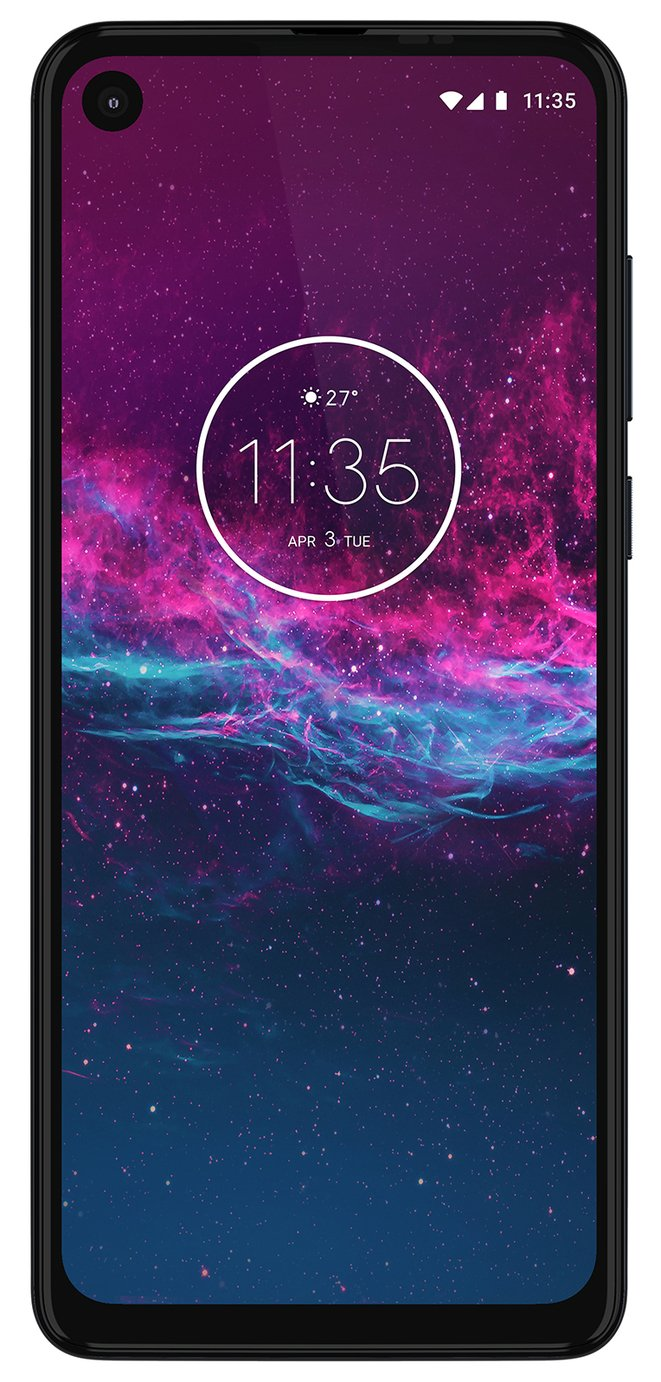 SIM Free Motorola One Action 128GB Mobile Phone-Pre Order