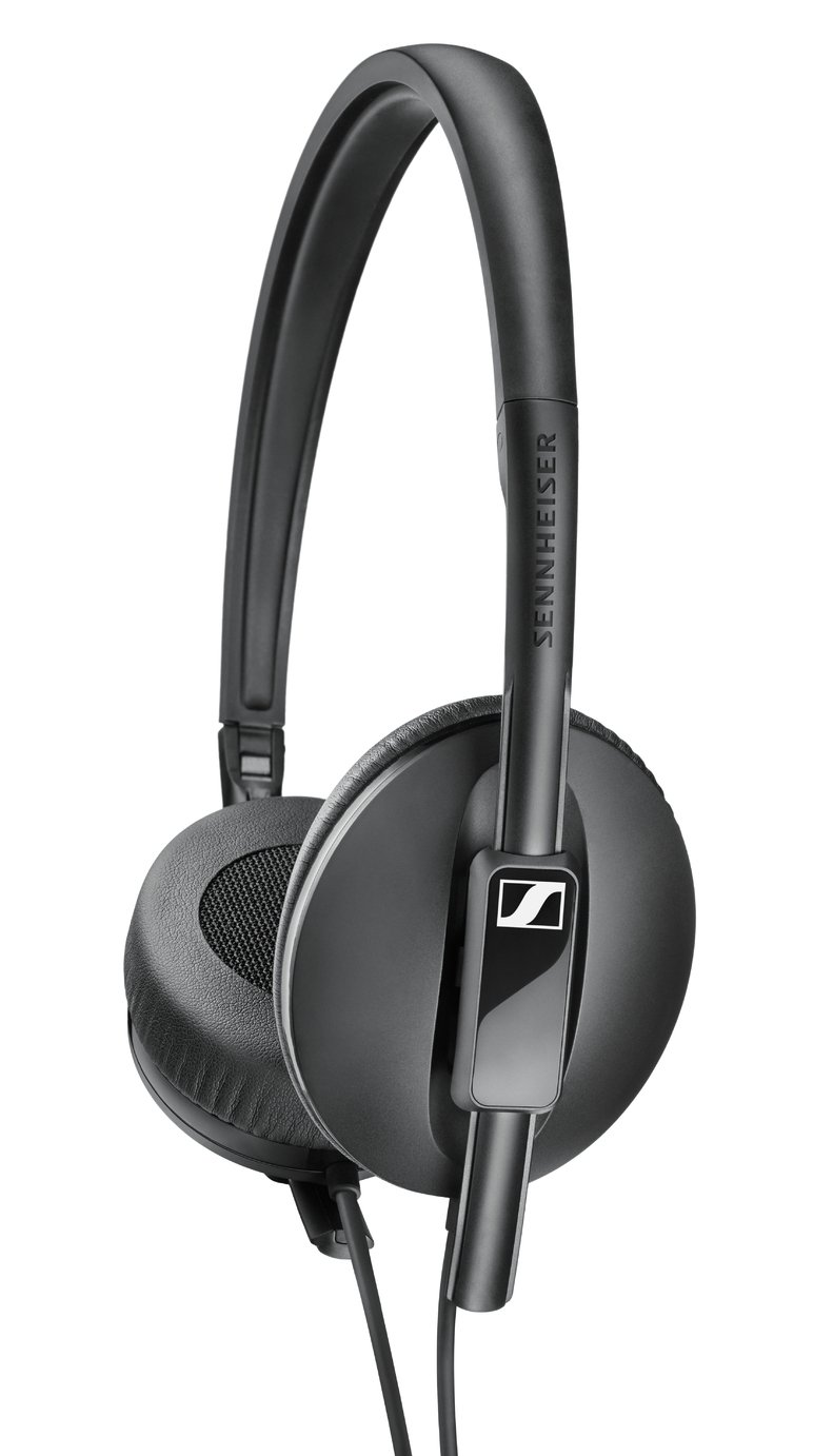 Sennheiser HD100 On-Ear Headphones - Black