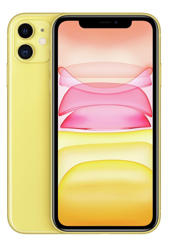 SIM Free iPhone 11 128GB Mobile Phone  - Yellow