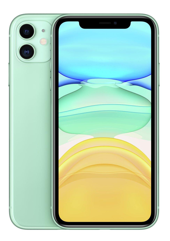 SIM Free iPhone 11 256GB Mobile Phone  - Green