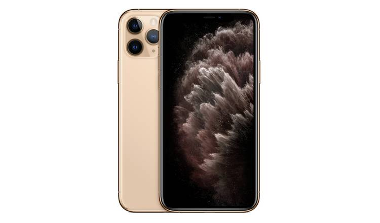 SIM Free iPhone 11 Pro 512GB Mobile Phone  - Gold