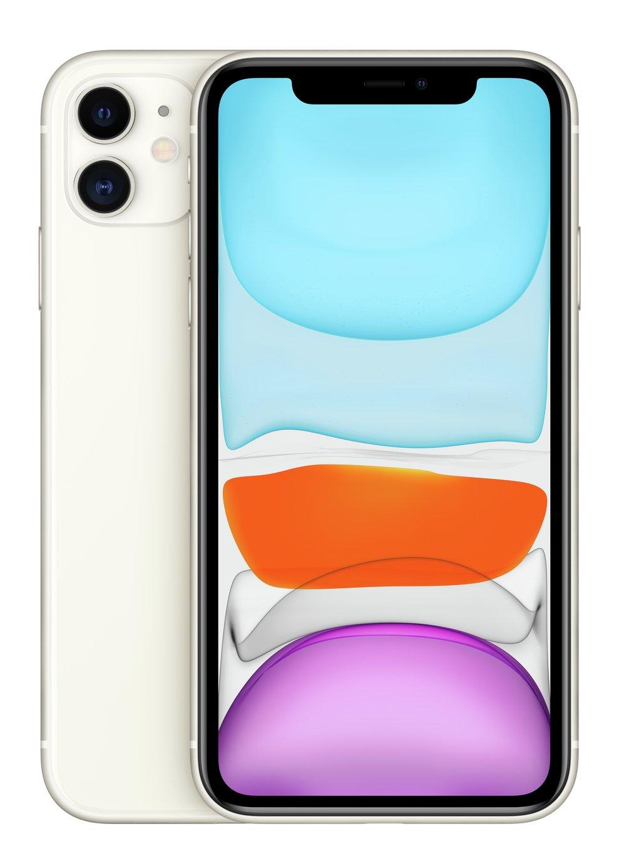 SIM Free iPhone 11 64GB Mobile Phone  - White