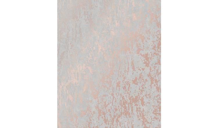 Buy Superfresco Milan Rose Gold Textured Wallpaper Wallpaper Argos