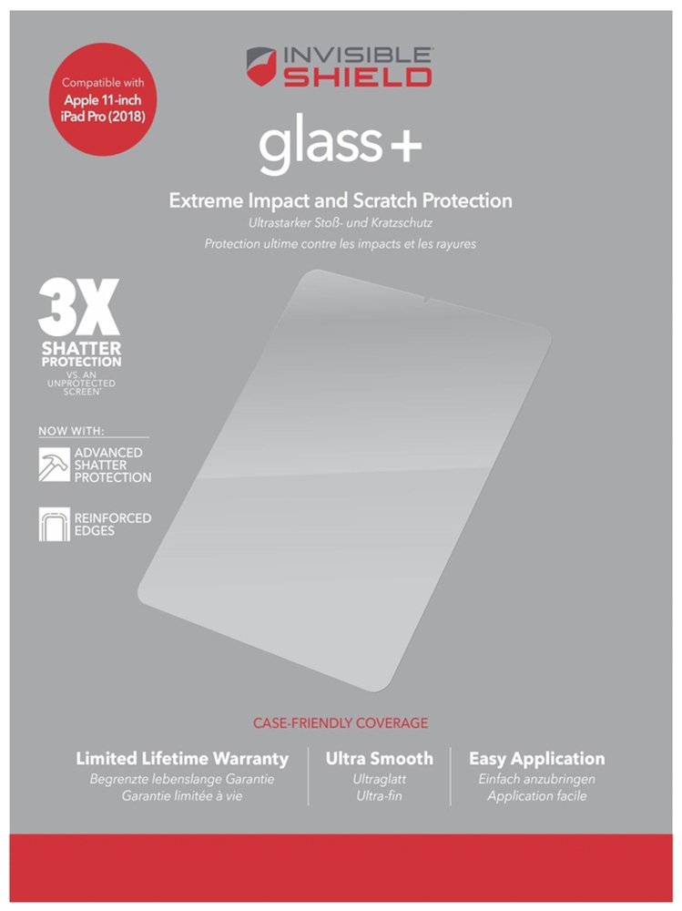 Zagg InvisibleShield Apple iPad Pro 11 Inch Screen Protector