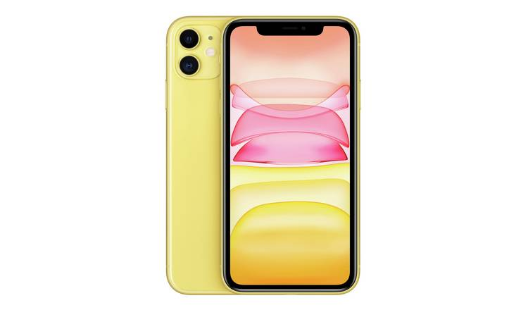 SIM Free iPhone 11 64GB Mobile Phone  - Yellow