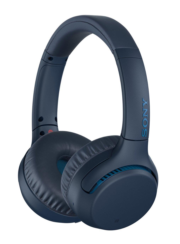 Sony WH-XB700 On-Ear Wireless Headphones - Navy
