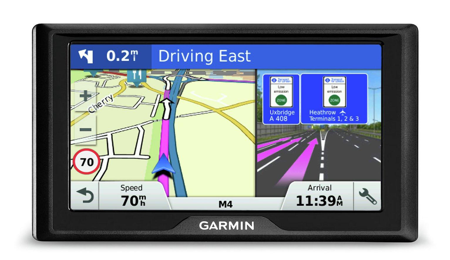 Garmin Drive 61LMT-S 6 Inch Sat Nav EU Maps and Live Traffic
