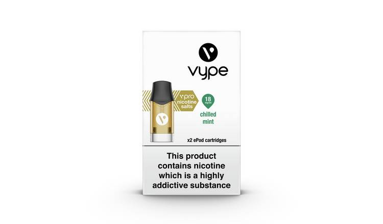 Vype Crushed Mint Epod Refill