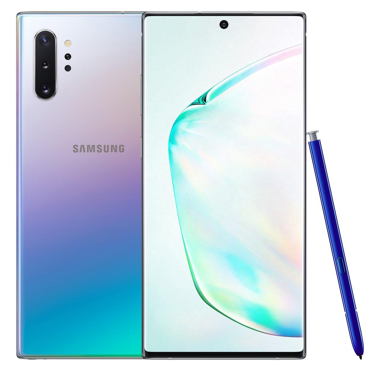SIM Free Samsung Galaxy Note 10+ 5G 256GB – Glow – Pre Order