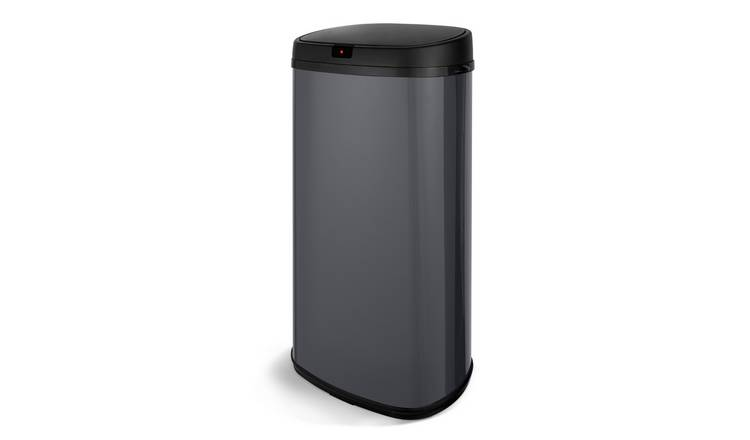 Tower 42 Litre Sensor Kitchen Bin - Grey