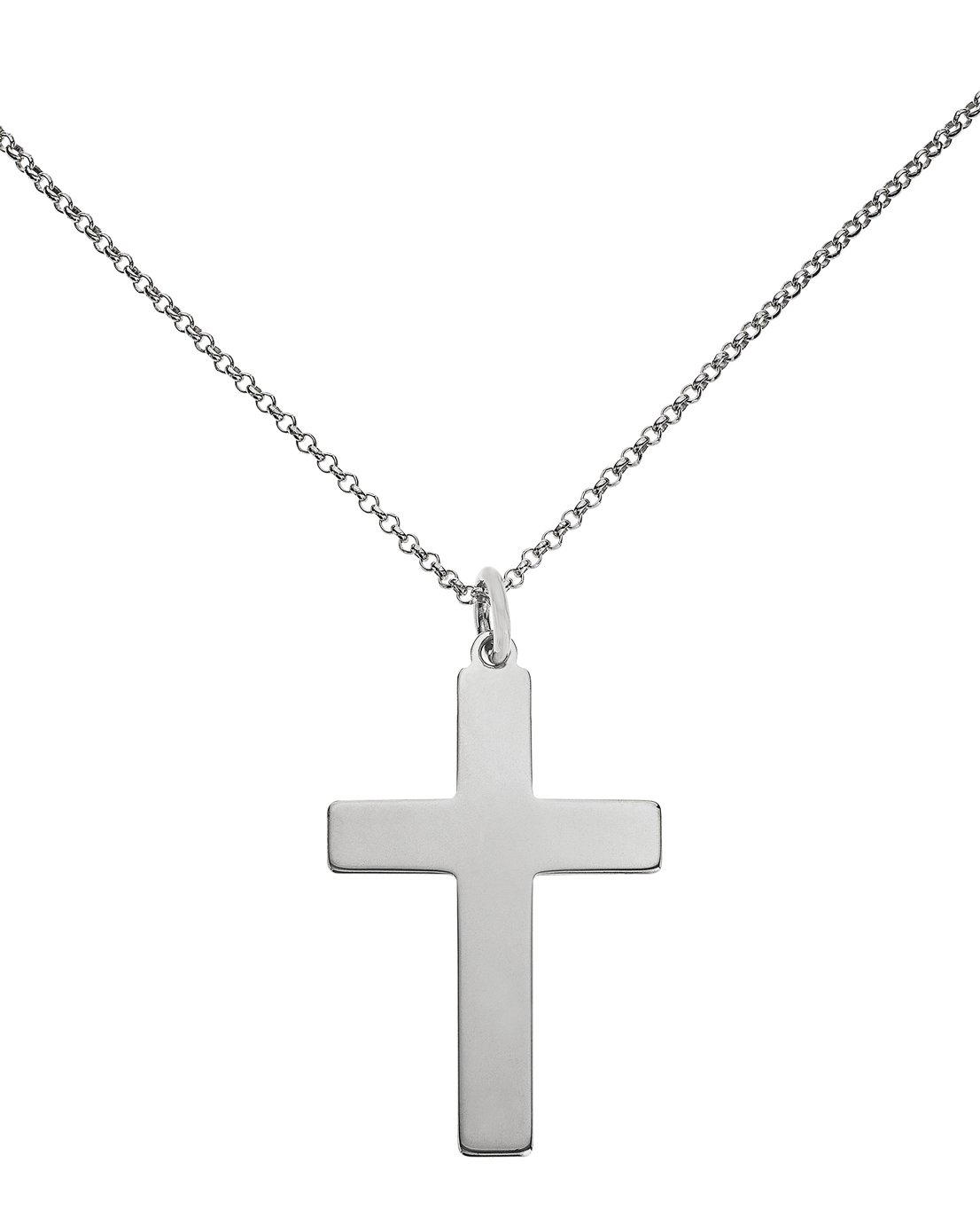 Image of Sterling Silver - Cross Pendant