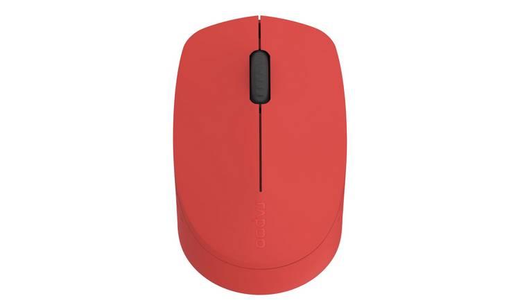 Rapoo M100 Silent Multi-Mode Wireless Mouse - Red