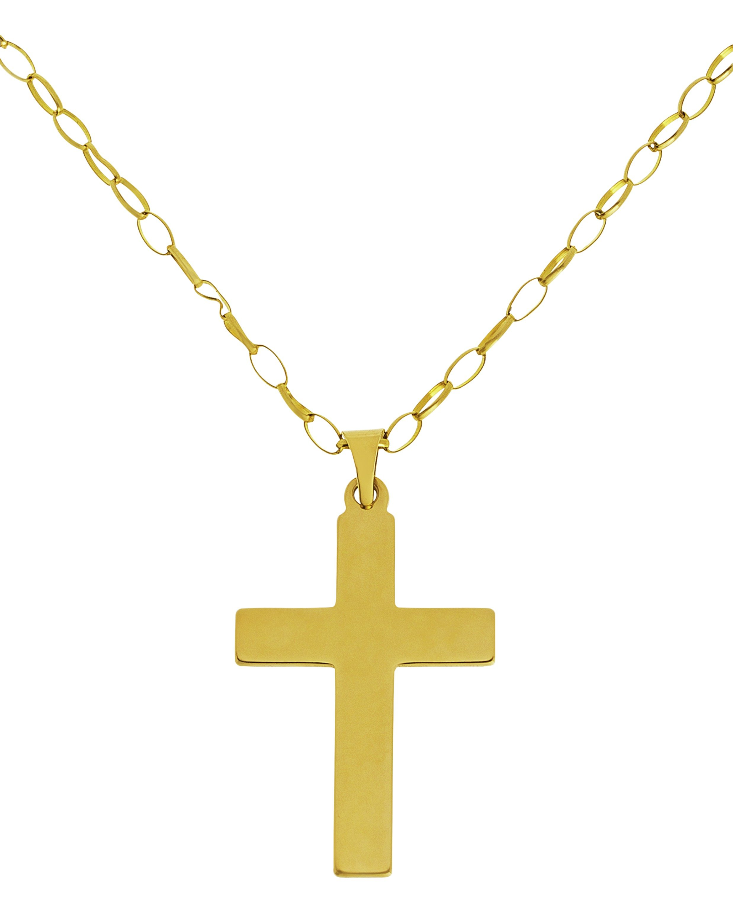 Image of 9ct - Gold - Cross Pendant