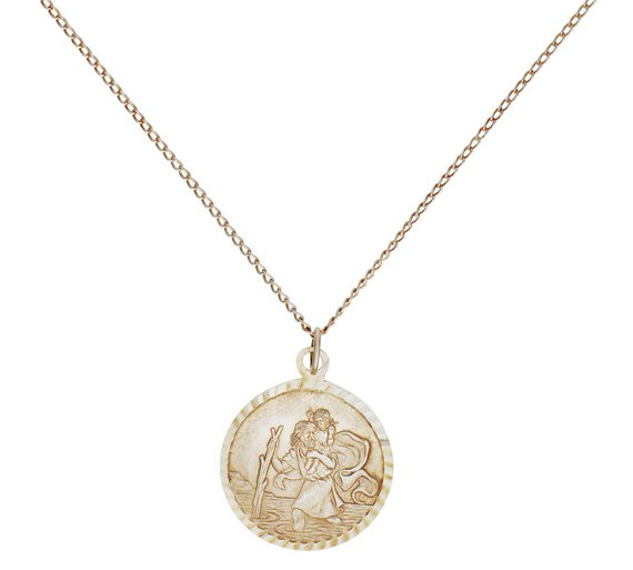 Buy revere sterling silver st christopher pendant ladies revere sterling silver st christopher pendant mozeypictures Images