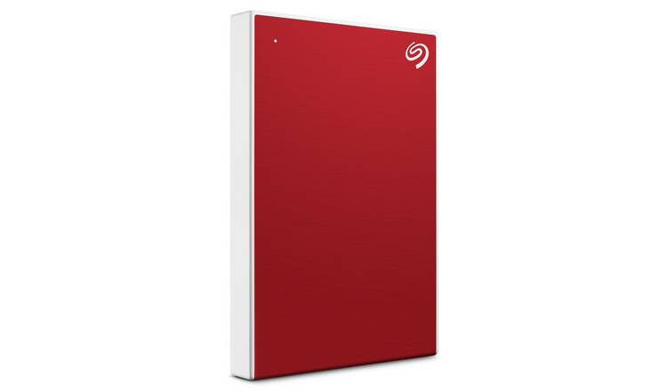 Seagate Backup Plus Portable 2TB Hard Drive - Red