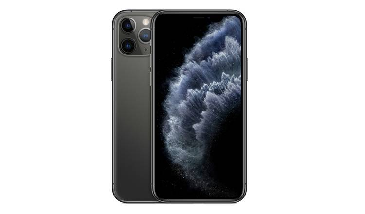 SIM Free iPhone 11 Pro 256GB Mobile Phone  - Space Grey