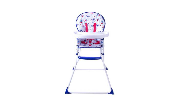 Red Kite Feed Me Compact Ship Ahoy Highchair