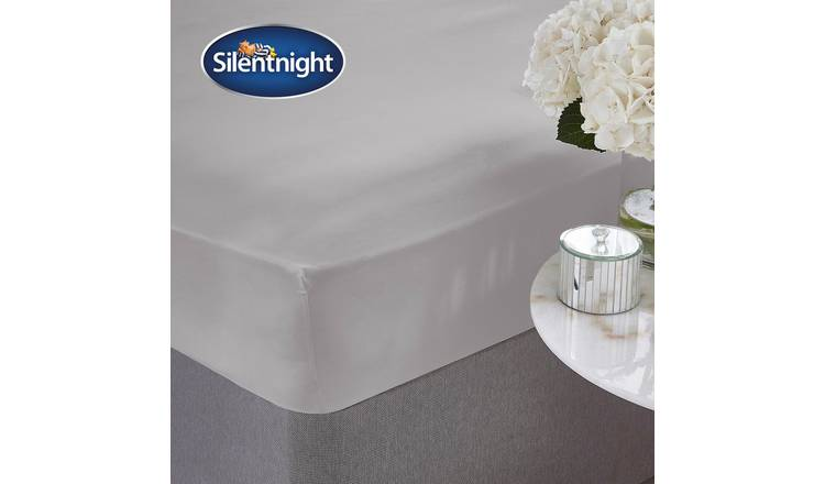 Silentnight Supersoft 28cm Fitted Sheet - Single