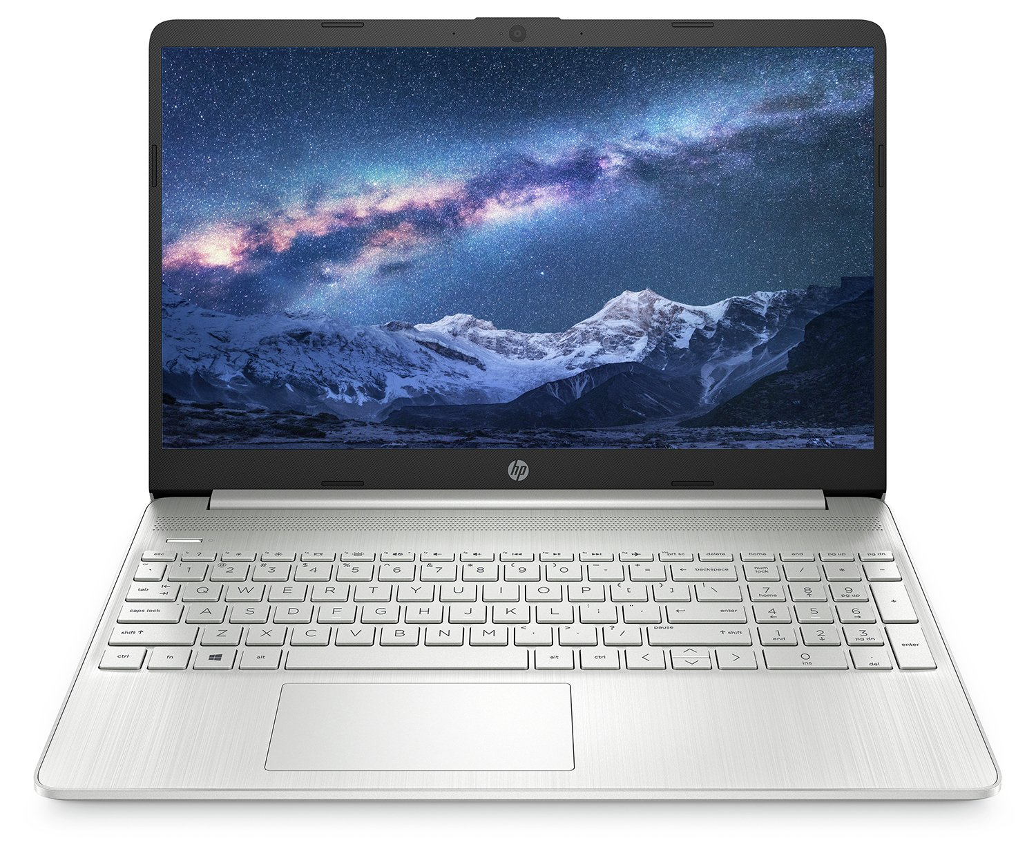 HP 15S 15.6 Inch i3 4GB 128GB FHD Laptop - Silver