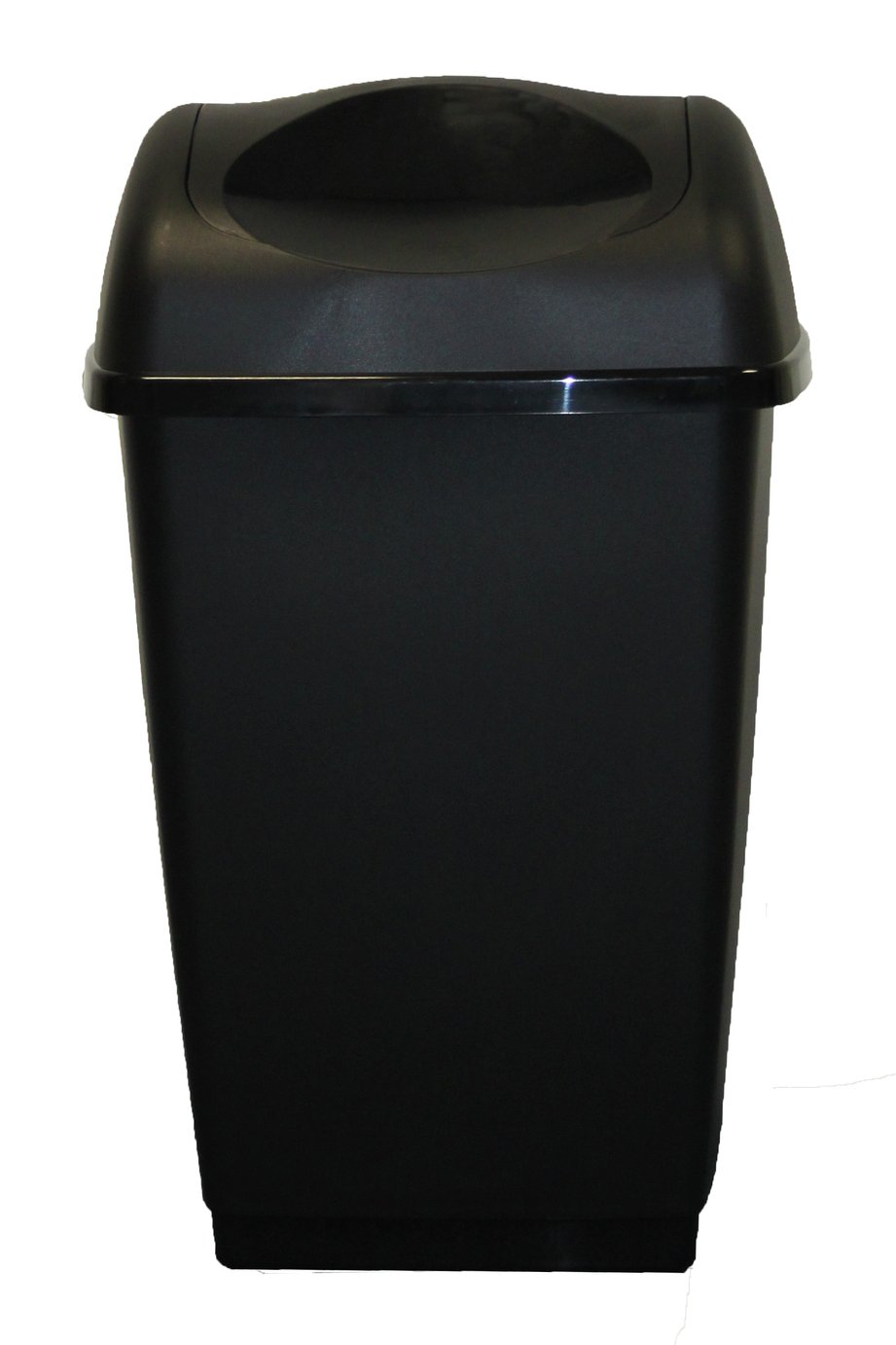 Tontarelli 25 Litre Swing Top Bin - Black