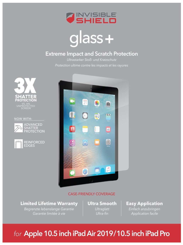 Zagg InvisibleShield Apple iPad 10.5 Inch Screen Protector