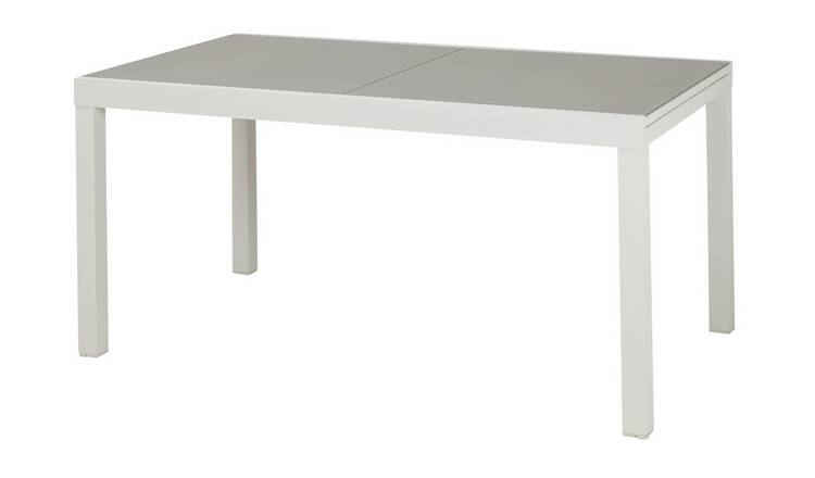 Argos Home 6 - 8 Seater Extendable Aluminium Table