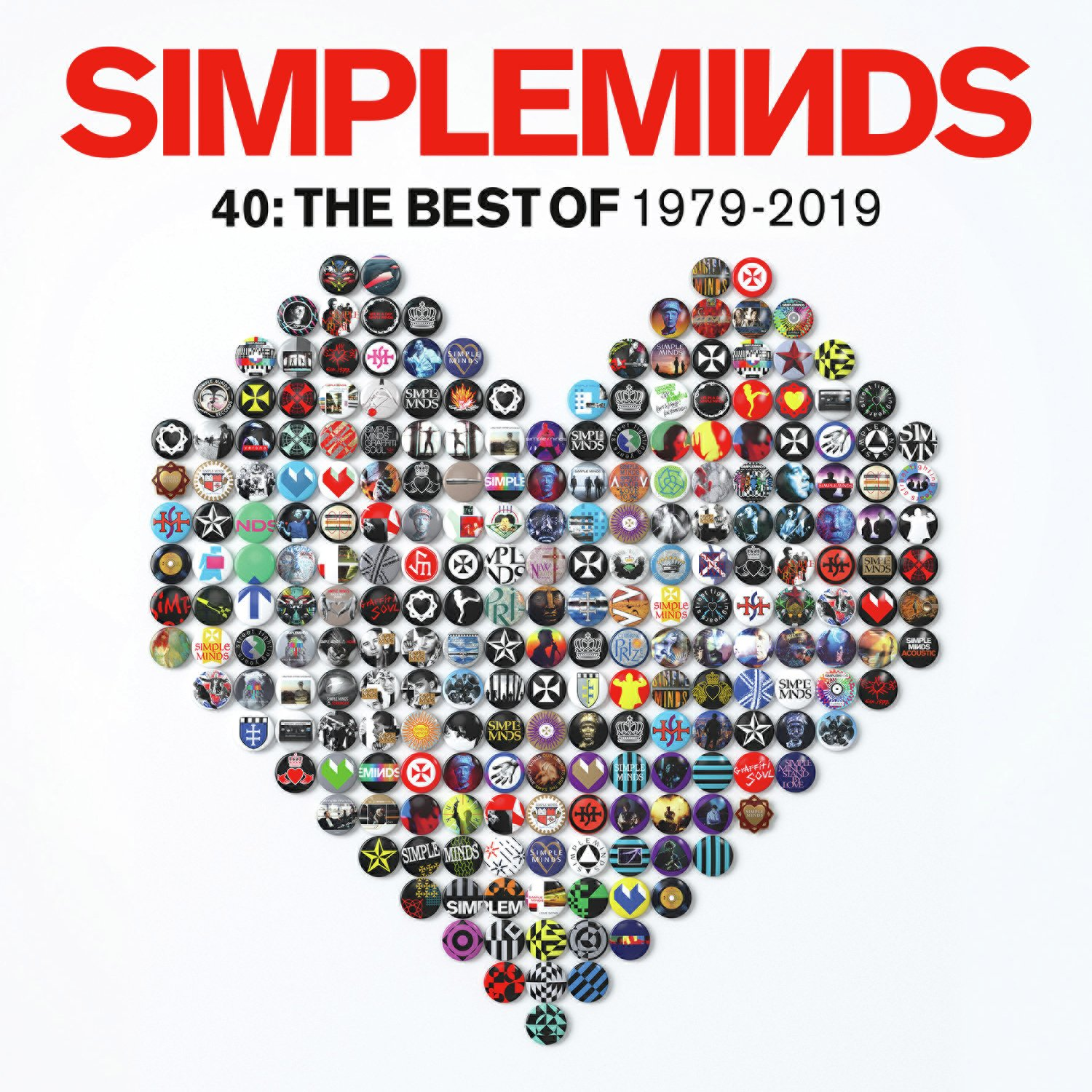Simple Minds - 40: The Best Of Vinyl