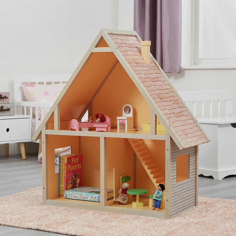 Liberty House Toys Chalet Dolls Bookcase