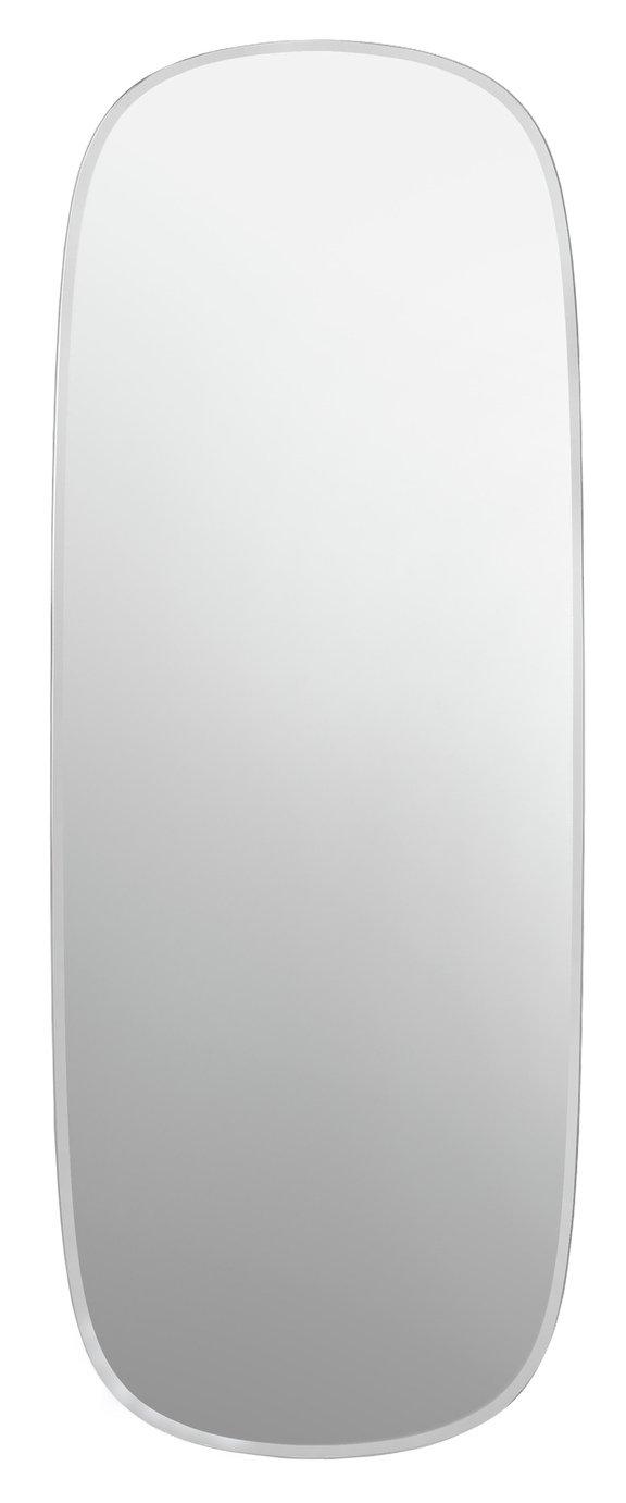 Innova Home Linnea Bevelled Mirror - Silver