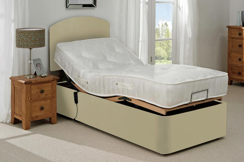 Adjustable beds.