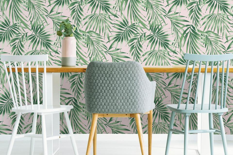 Use different wallpaper or paint