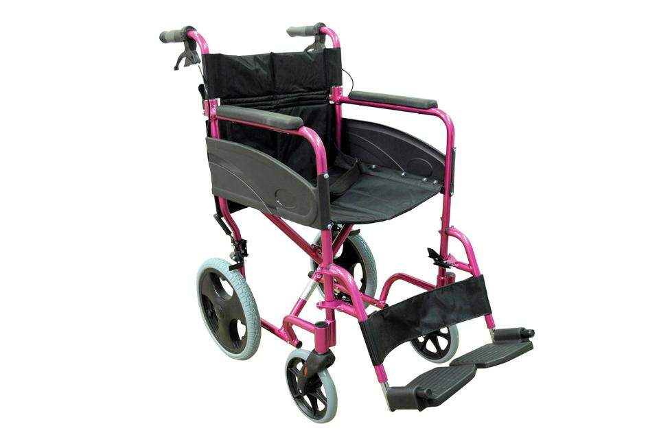 Compact wheelchair.