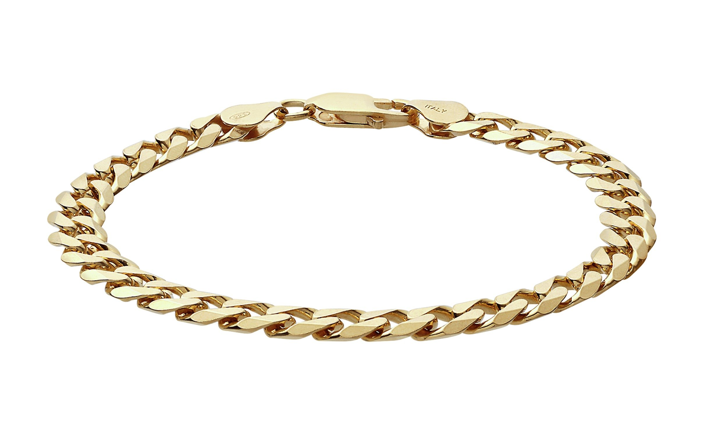Sale On 9ct Gold Plated Sterling Silver Curb