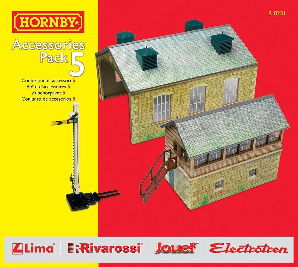 Image of Hornby - DCC Building Extension Pack 5 Set.