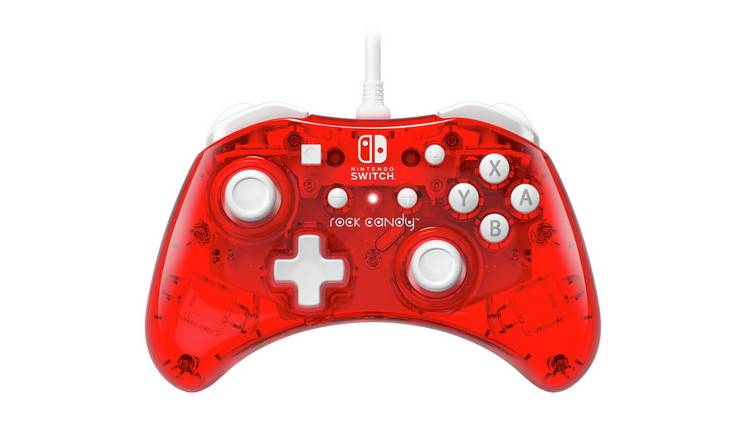 PDP Rock Candy Nintendo Switch Wired Controller - Red