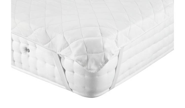 Argos Home Cooling Mattress Protector - Double